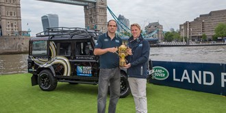 Defender voor de Rugby World Cup