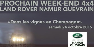 Week-end's 4x4 Land Rover 2015