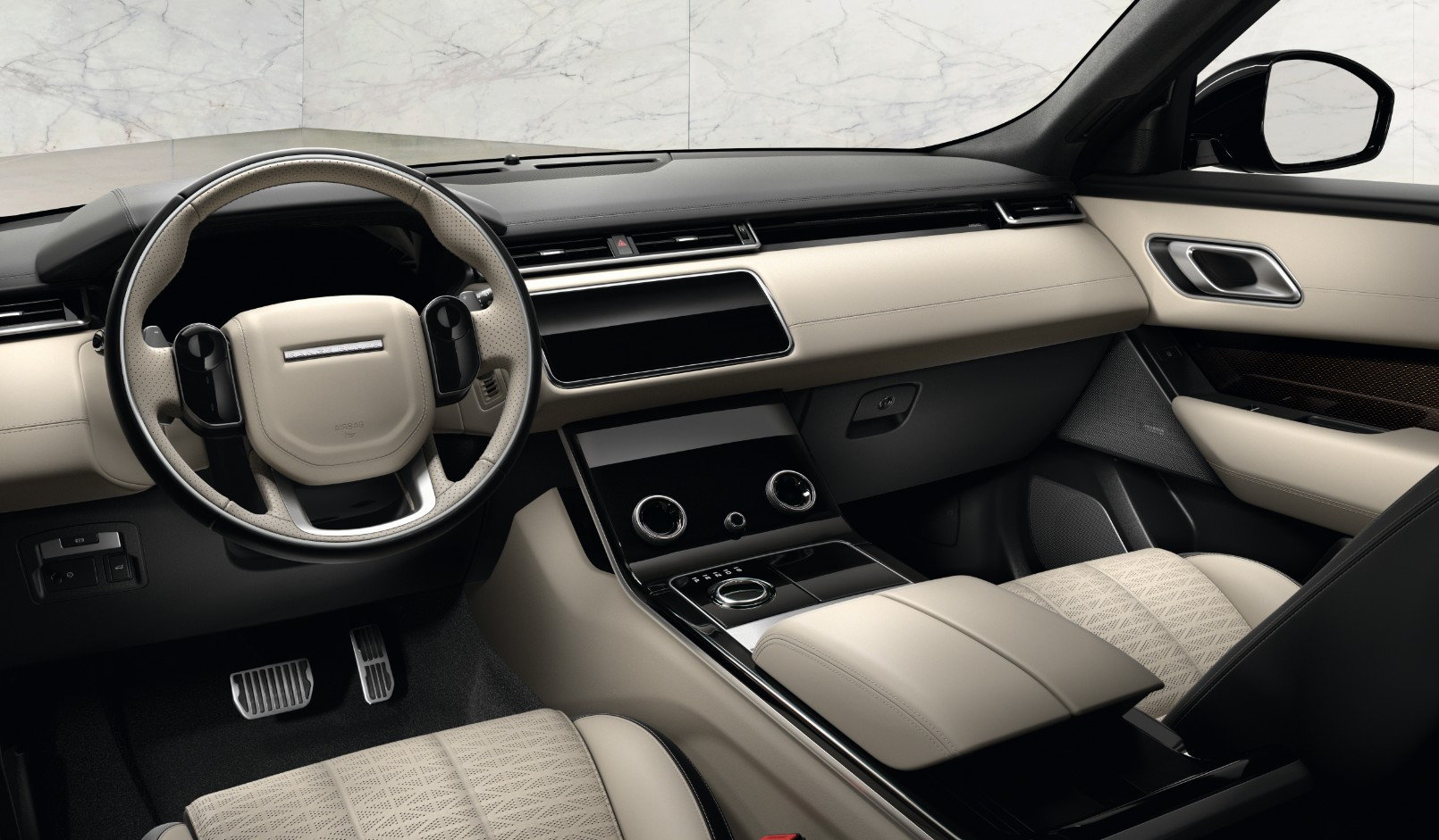 New range rover velar for Interieur range rover velar