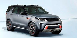 LAND ROVER ONTHULT DE DISCOVERY SVX