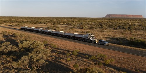 640X320 Discovery Road Train Landscape