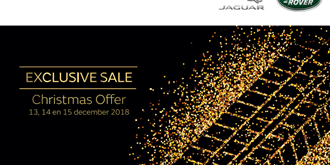 CHRISTMAS SALES: 13-14-15 DECEMBER @ LAND ROVER SZREK