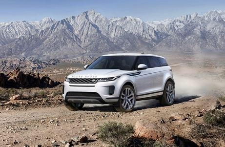 New Evoque Driving Off Road