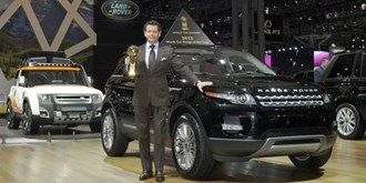 "Range Rover Evoque bekroond met de titel ""World Design car"""
