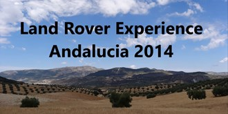 Land Rover Experience - Andalucia 2014