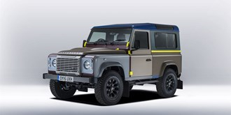 Tailor-made Defender voor Paul Smith