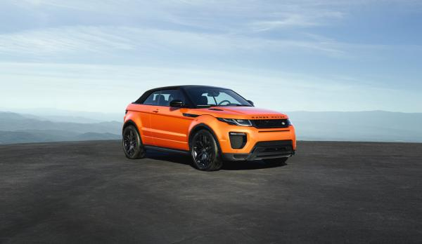 Convertible Roof Closed - Range Rover Evoque Convertible