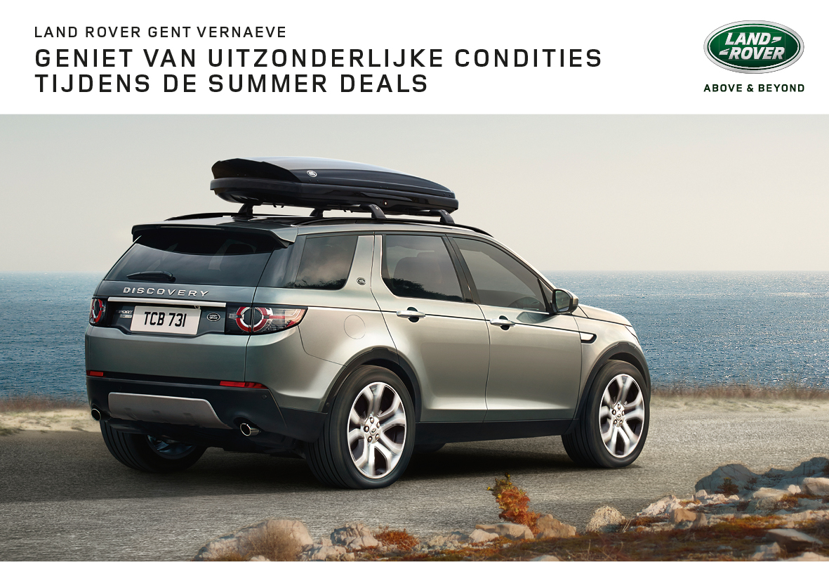 ONZE SUMMER DEALS ZIJN HOT, OOK NOG IN SEPTEMBER