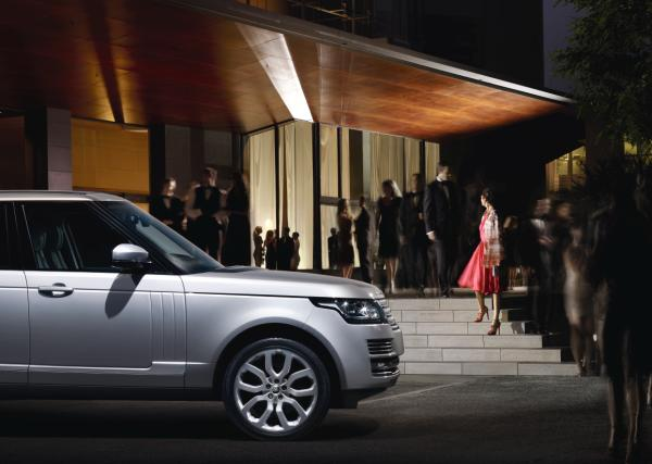 L405 at an event- Range Rover