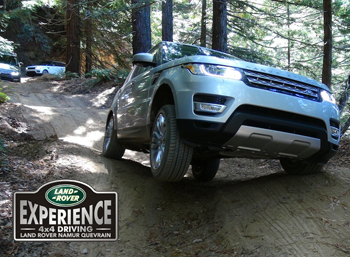 LED NAmur 2014- Weeks-ends 4x4 - Land Rover Experience Day